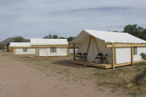 Glamping Tent Sleep 3 to 4 Photo 2