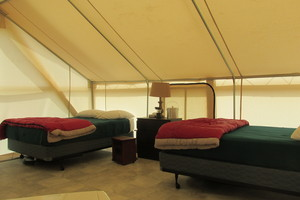 Glamping Tent Sleep 3 to 4 Photo 3
