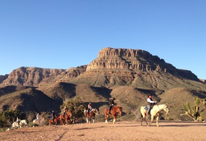 WA2 Ultimate Grand Canyon Western Experience w/ Helicopter Tour, Horseback Ride & Wild West Experience Photo 5