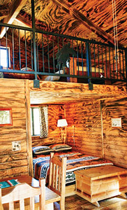 Smith and Ketchum Large Pine Cabins sleep up to 5 Photo 1